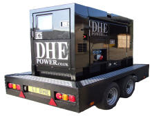 UK GENERATOR POWER FOR HIRE