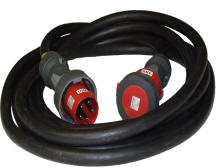 Power cable Hire  from 16amp to 125amp 3 phase