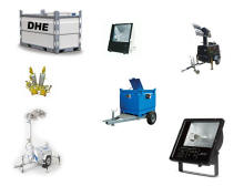 SITE LIGHTING HIRE & FUEL TANK HIRE