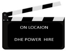 Power hire for TV-Film Industries