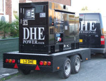 10KVA to 500KVA GENERATOR POWER FOR HIRE UK